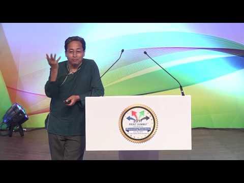 Sonam Wangchuk @ Print Summit 2017