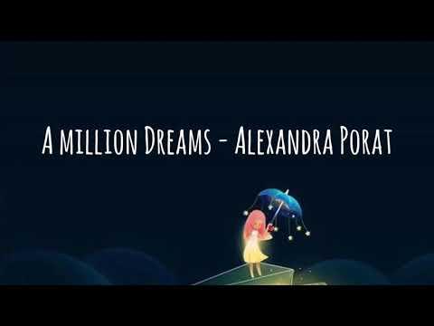 A Million Dreams - Cover by Alexandra Porat [LIRIK + TERJEMAHAN]