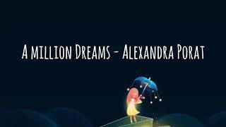 A Million Dreams - Cover by Alexandra Porat (Lirik dan terjemahan)