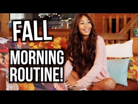 My Fall Morning Routine! | Mylifeaseva