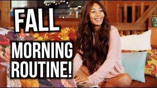 My Fall Morning Routine! | Mylifeaseva