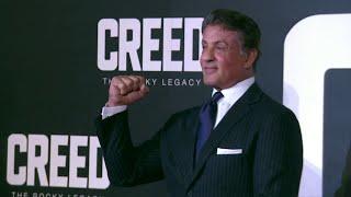 Creed European Premiere Red Carpet - Sylvester Stallone, Michael B. Jordan, Tony Bellew