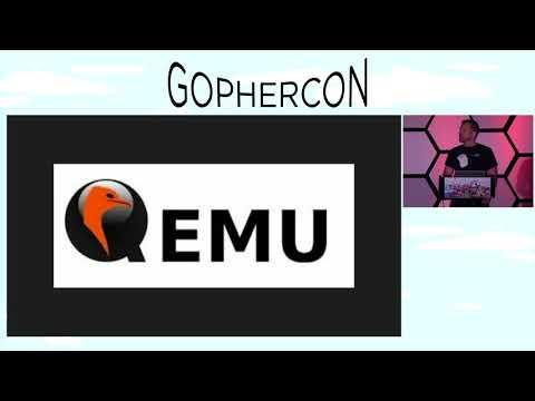 GopherCon 2018 Lightning Talk:  Brad Fitzpatrick - The nuclear option, go test -run=InQemu