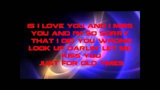Conway Twitty~Hello Darlin With Lyrics