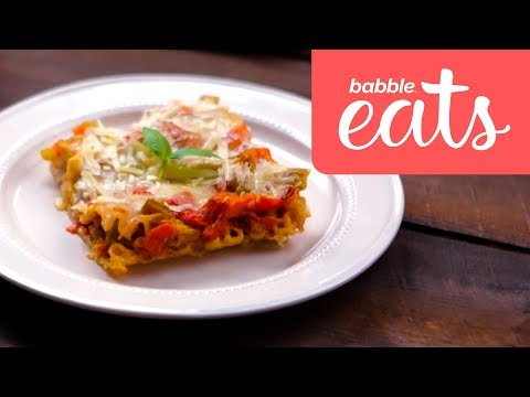 Babble Eats Around the World | Italy | Vegetarian Lasagna