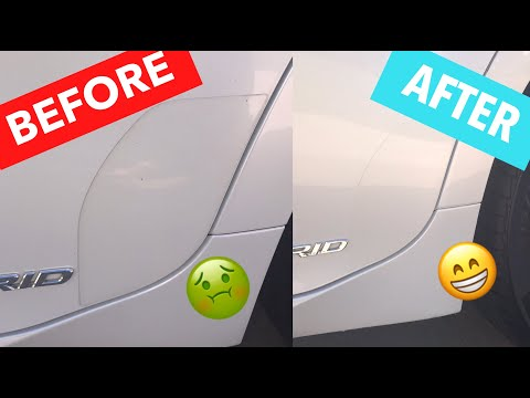 How To Clean Paint Protection Film (PPF) / Clear Bra Edges and Borders