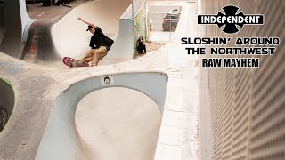 "RAW MAYHEM w/ Pedro Delfino, Roman and Cedric Pabich ""Sloshin Around"" | Independent Trucks"