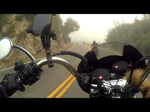 Angeles National Forest Sunday Ride California HWY 2 North