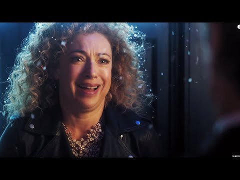 Alex Kingston On Returning As River Song  The Husbands of River Song  Doctor Who Christmas 2015