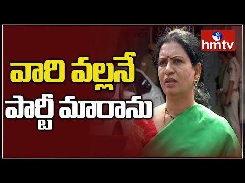 DK Aruna Face To Face After Joining In BJP With hmtv