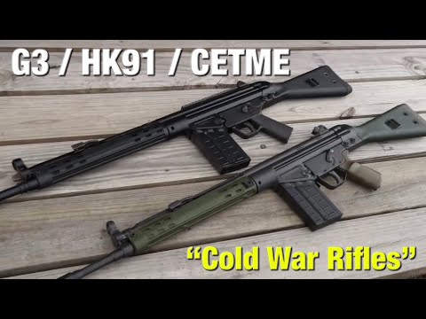 The G3 has been a workhorse across the world (Cold War Rifles)