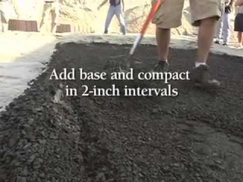 Captivating Do It Yourself Video   How To Install Walkways, Patios And Landscape Pavers    YouTube
