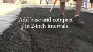 Do It Yourself Video - How To Install Walkways, Patios And Landscape Pavers
