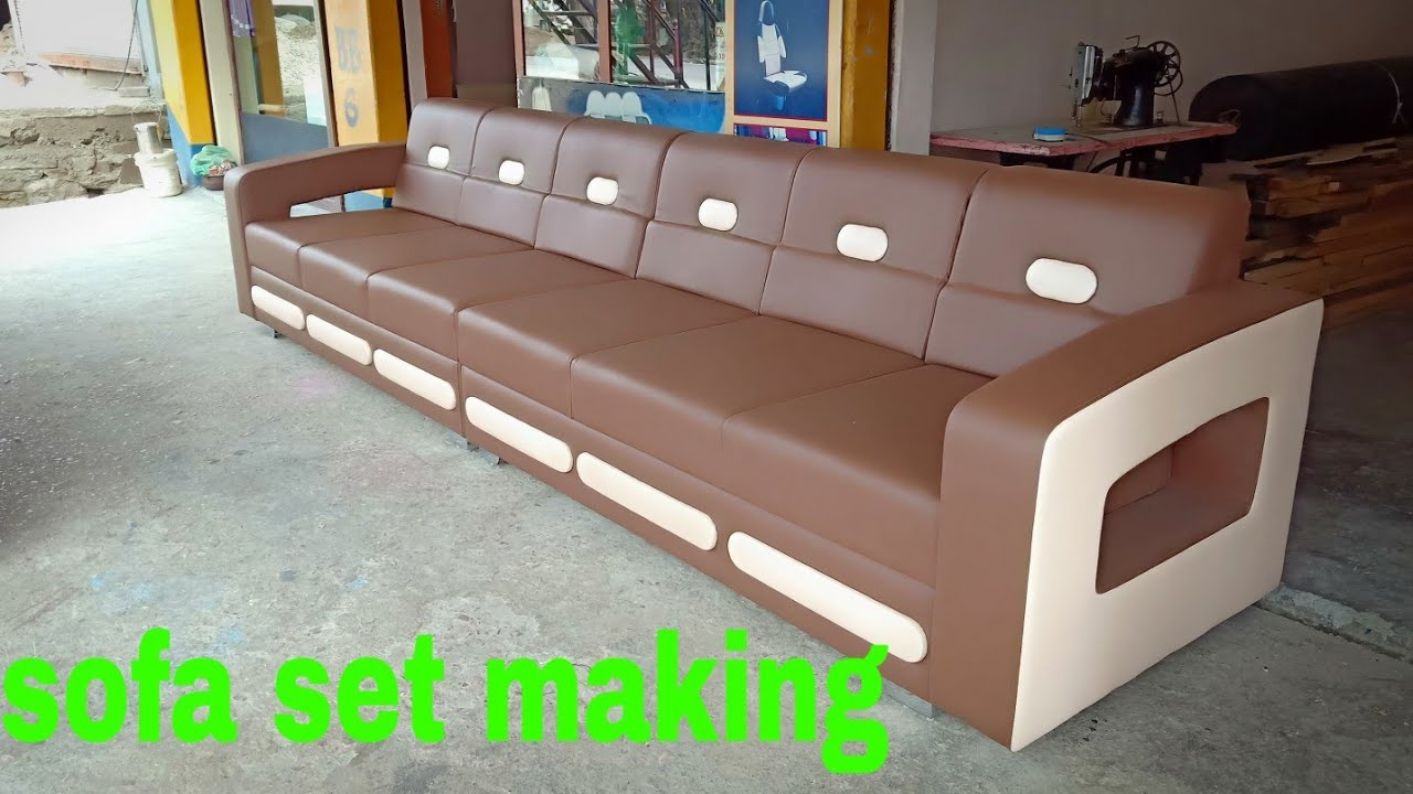 Sofa Making How To Make A Set Process Step By
