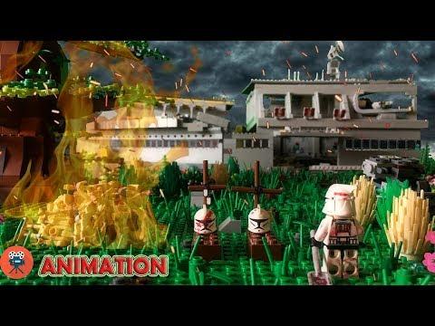 Мультфильм войны лего звездные войны война клонов