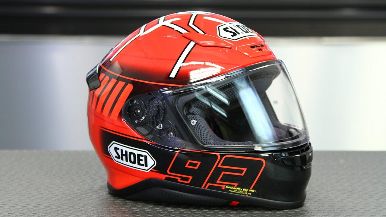 Shoei Gt Air >> Shoei RF-1200 Marquez 3 Helmet Quick Look   Motorcycle Superstore - YouTube