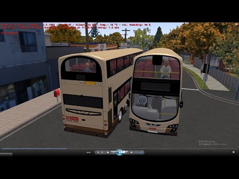Omsi 2 tour (748) Sydney bus 159 Manly Wharf - Wingala - Dee Why Grand @ Volvo B9TL 12m 澳洲 悉尼