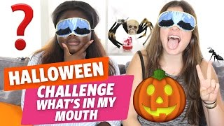 ✿ [Halloween] What's In My Mouth spécial avec Clara et Gloria ✿