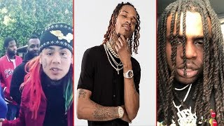Fetty Wap's Crew emptied the clip on Tekashi 69's crew in L.A.  Tekashi 69 is now beefing Chief Keef