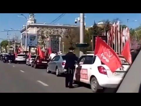 Ростов-на-Дону: Полиция пресекла автопробег в центре Ростова
