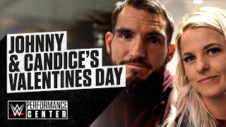 Johnny Gargano and Candice LeRae celebrate Valentine's Day with the Ultimate WWE Tour