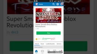 Roblox Super Smash Bros Revolution Bölüm 1