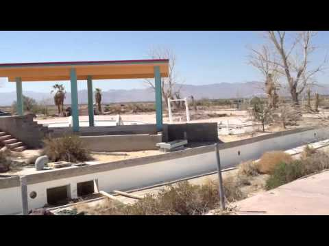 Exploring Abandoned Waterpark In Mojave Desert II
