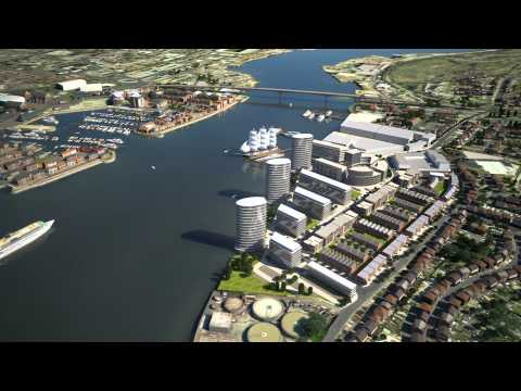 Woolston Town Planning and Regeneration 3D City Model