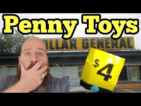 Surprise Penny Toys & 90% Off At Dollar General 100's Of UPC Codes & Visuals