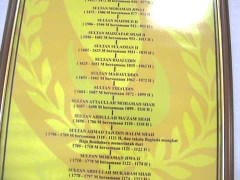 Sultan Melaka Darul Islam Official Blog Salasilah Dymm Tuanku Raja Noor Jan Shah Ibni Al Marhum Yam Raja Tuah Shah