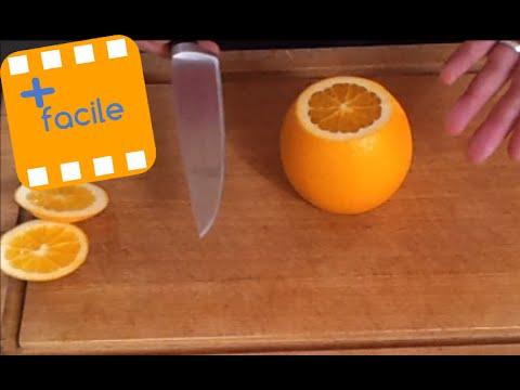 comment préparer une orange efficacement - youtube