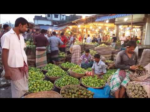 Desi Fruits Aroth Very Morning in Karwan Bazar Road Side Dhaka Bangladesh