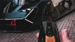 First time revealed Lamborghini terzo concept key