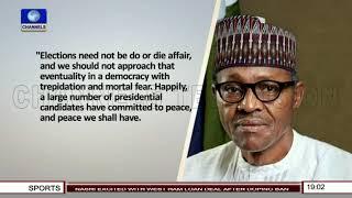 President Buhari Promises Free, Fair, Credible Elections |Politics Today|