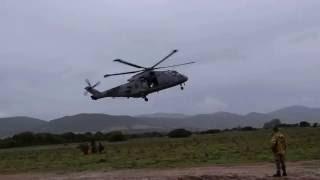 Mare Aperto 2016: EH-101 e Lagunari Serenissima a Capo Teulada