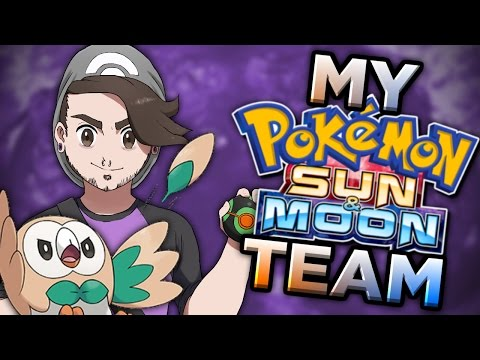 My Pokemon Sun and Moon Team! [Contains Spoilers] - Speqtor