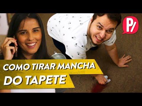 COMO TIRAR MANCHA DO CARPETE | Desserviço | PARAFERNALHA