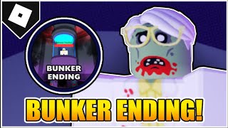 How to get the BUNKER ENDING + BADGE in FIELD TRIP Z! (Science Teacher Bossfight!) [ROBLOX]