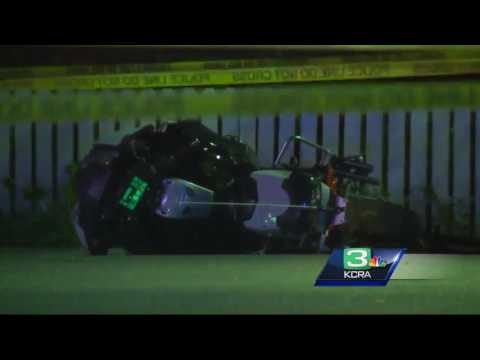 Suspect arrested after CHP officer dies in motorcycle crash