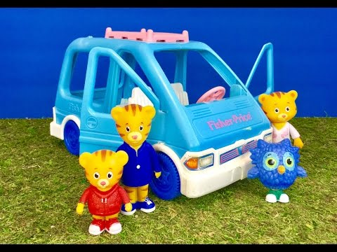 DANIEL Tiger Toys Ride FISHER PRICE Van!