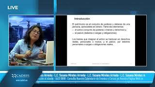 Cadefi   Determinación de las cuentas fiscales (Parte 1)   Julio