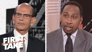 Paul Finebaum: Urban Meyer handled controversial situation 'terribly' | First Take | ESPN