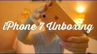 iphone 7 unboxing ✨📱