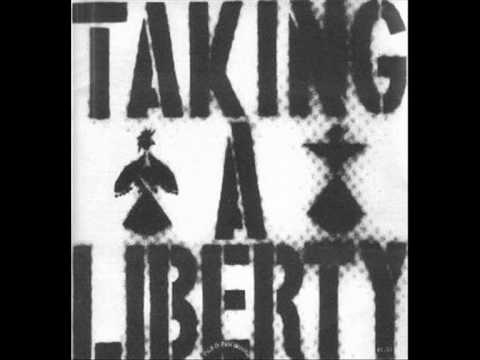 Flux of Pink Indians - Taking a liberty (7 inch single)