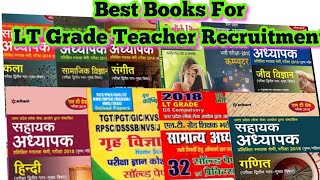 Best books for LT Grade Teacher Recruitment
