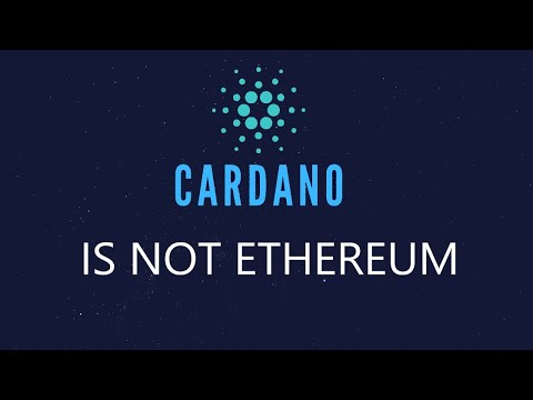 Cardano Isn't Competing with Ethereum!