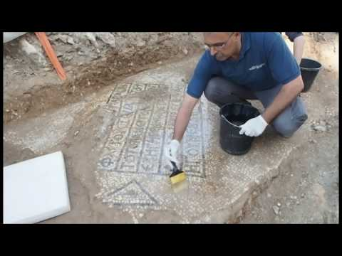 Important ancient inscription unearthed near the Damascus Gate in Jerusalem