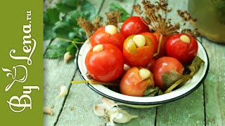 Квашеные Помидоры за 4 дня - простой рецепт и замечательные соленые помидоры как из бочки!