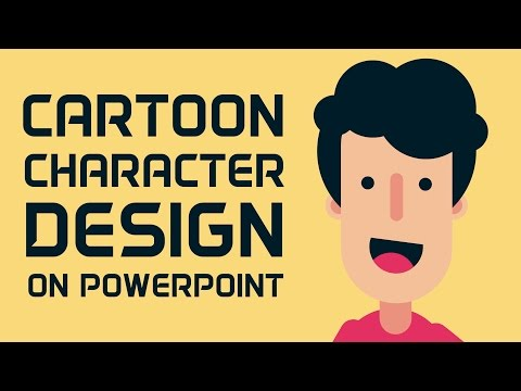How to Design Cartoon Character in PowerPoint thumbnail