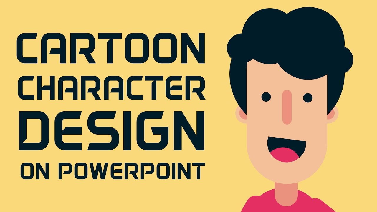 How to design cartoon character in powerpoint youtube how to design cartoon character in powerpoint toneelgroepblik Images
